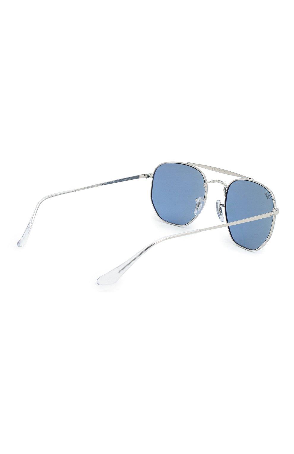 Женские солнцезащитные очки RAY-BAN голубого цвета, арт. 3648-003/56 | Фото 5