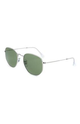 Мужские солнцезащитные очки RAY-BAN темно-зеленого цвета, арт. 3548-91984E   Фото 1