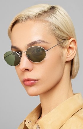 Женские солнцезащитные очки RAY-BAN темно-зеленого цвета, арт. 3547-91984E   Фото 2