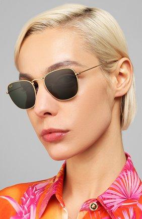 Мужские солнцезащитные очки RAY-BAN черного цвета, арт. 3857-919631   Фото 2