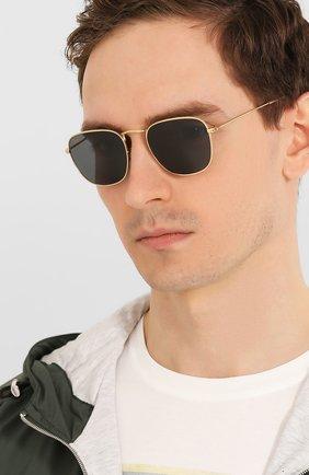Женские солнцезащитные очки RAY-BAN темно-синего цвета, арт. 3857-9196R5 | Фото 3