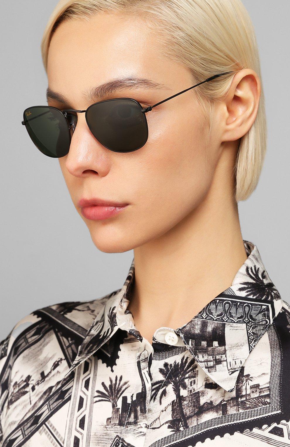 Женские солнцезащитные очки RAY-BAN черного цвета, арт. 3857-919931 | Фото 2