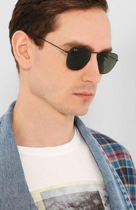 Женские солнцезащитные очки RAY-BAN черного цвета, арт. 3857-919931 | Фото 3