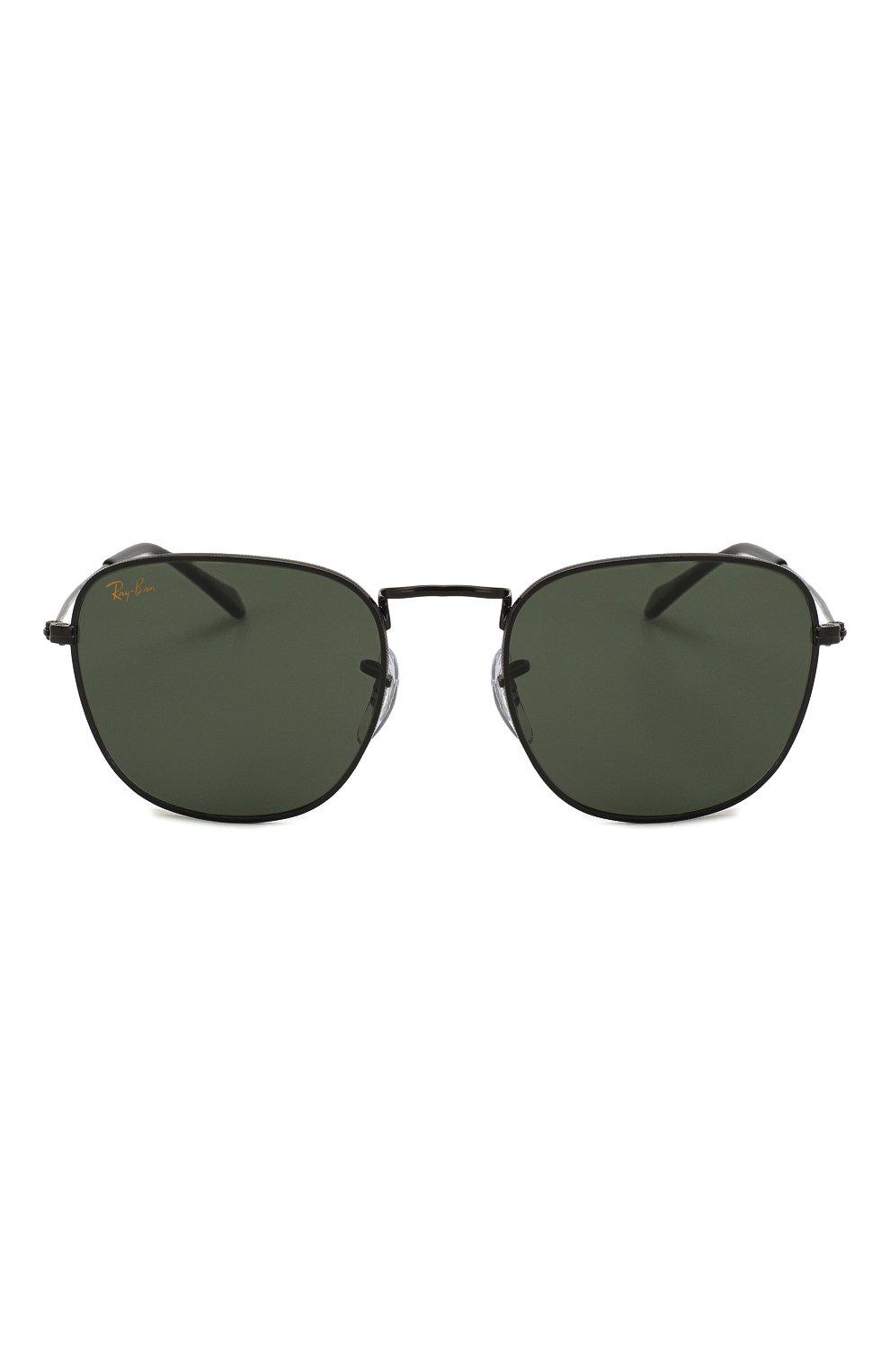 Женские солнцезащитные очки RAY-BAN черного цвета, арт. 3857-919931 | Фото 4