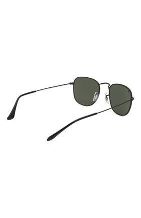 Женские солнцезащитные очки RAY-BAN черного цвета, арт. 3857-919931 | Фото 5