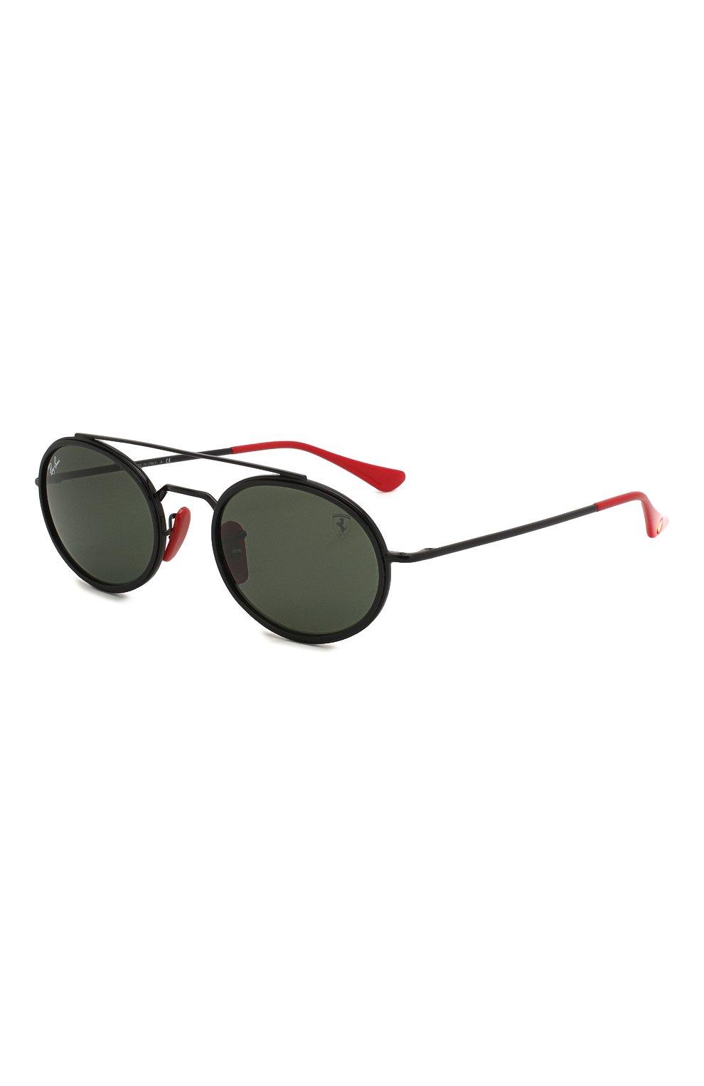 Женские солнцезащитные очки RAY-BAN черного цвета, арт. 3847M-F02831 | Фото 1