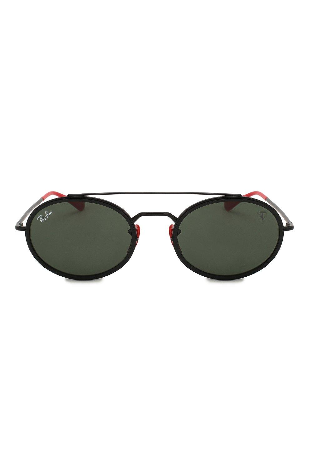 Женские солнцезащитные очки RAY-BAN черного цвета, арт. 3847M-F02831 | Фото 4