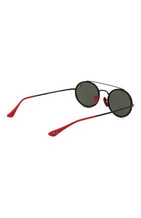 Женские солнцезащитные очки RAY-BAN черного цвета, арт. 3847M-F02831 | Фото 5