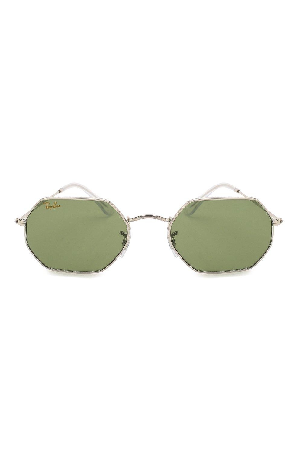 Женские солнцезащитные очки RAY-BAN зеленого цвета, арт. 3556-91984E   Фото 4
