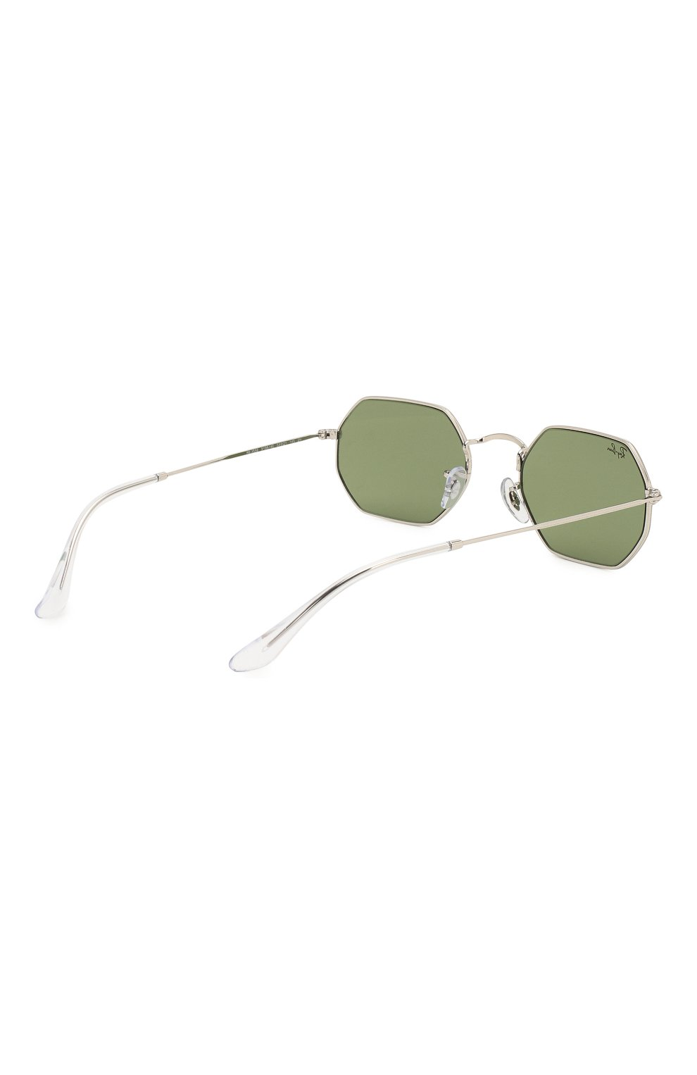 Женские солнцезащитные очки RAY-BAN зеленого цвета, арт. 3556-91984E | Фото 5