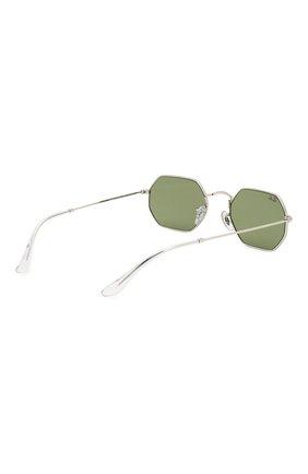 Женские солнцезащитные очки RAY-BAN зеленого цвета, арт. 3556-91984E   Фото 5