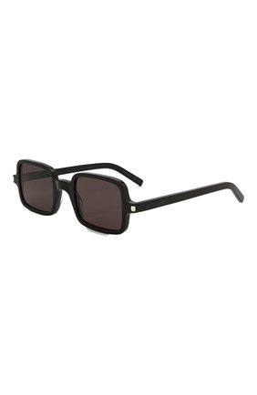 Женские солнцезащитные очки SAINT LAURENT черного цвета, арт. SL 332 001 | Фото 1