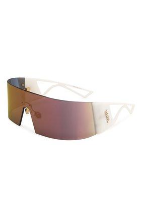 Женские солнцезащитные очки DIOR белого цвета, арт. KALEIDI0RSC0PIC 35J | Фото 1
