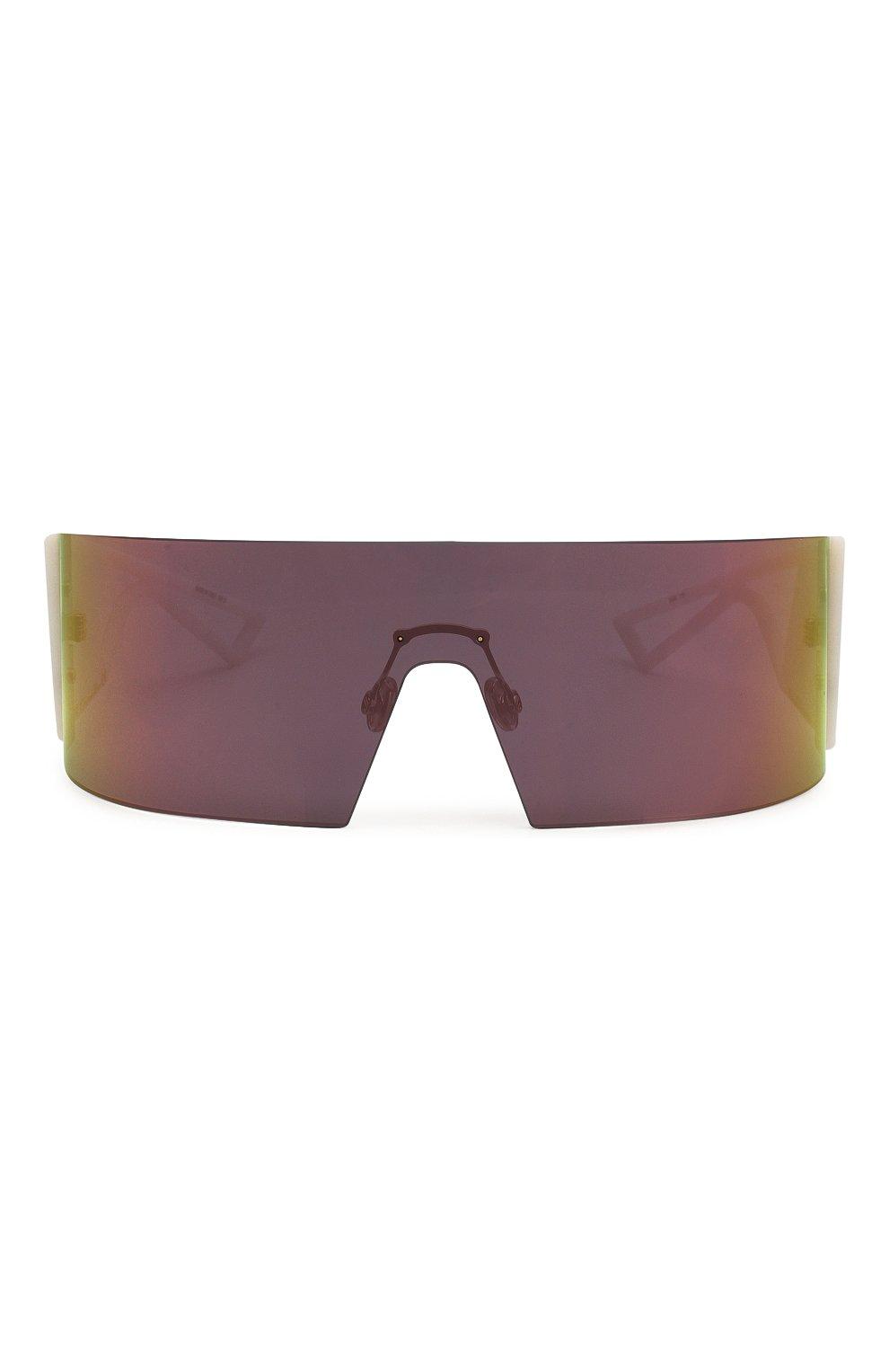 Женские солнцезащитные очки DIOR белого цвета, арт. KALEIDI0RSC0PIC 35J | Фото 4
