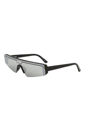 Мужские солнцезащитные очки BALENCIAGA черного цвета, арт. BB0003 005 | Фото 1