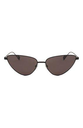 Женские солнцезащитные очки BALENCIAGA черного цвета, арт. BB0086S 001 | Фото 3