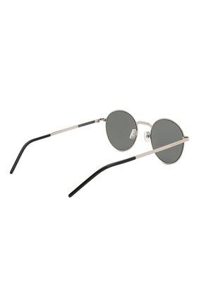 Женские солнцезащитные очки SAINT LAURENT лилового цвета, арт. SL 250 SLIM 007 51 | Фото 5