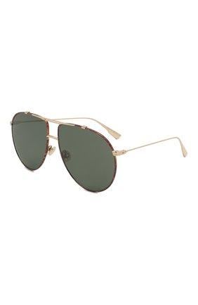 Женские солнцезащитные очки DIOR черного цвета, арт. DI0RM0NSIEUR1 2IK | Фото 1