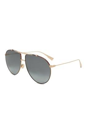 Женские солнцезащитные очки DIOR черного цвета, арт. DI0RM0NSIEUR1 XWY | Фото 1