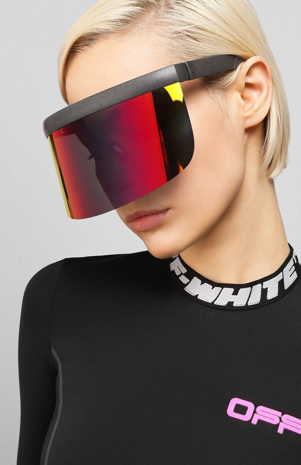 Женские солнцезащитные очки MYKITA MYLON черного цвета, арт. DAISUKE/308 | Фото 2