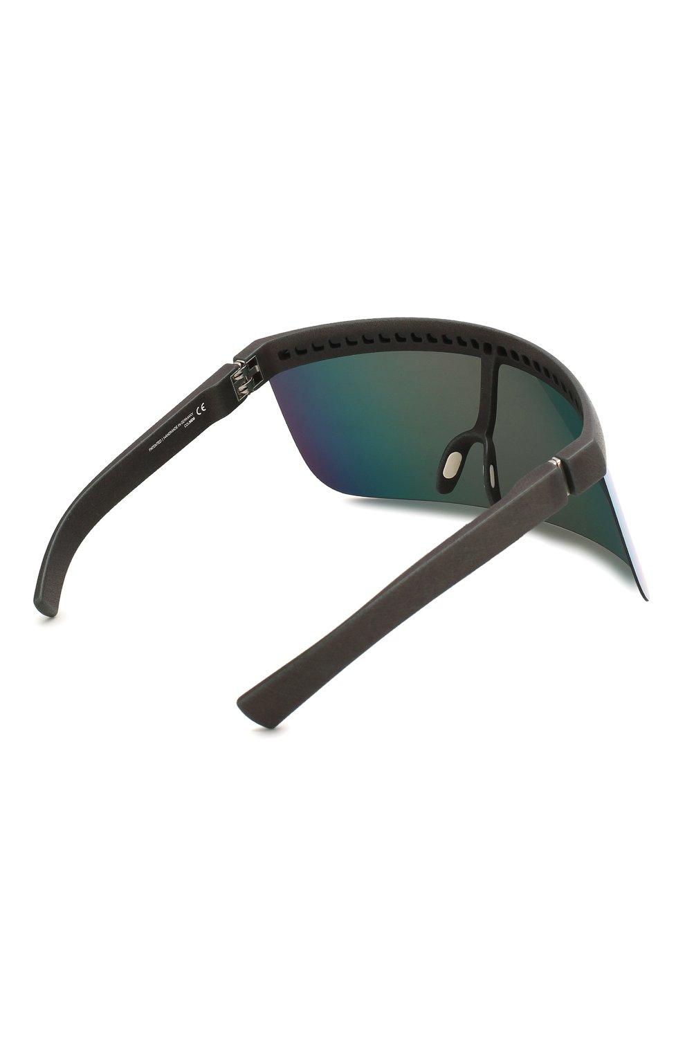 Женские солнцезащитные очки MYKITA MYLON черного цвета, арт. DAISUKE/308 | Фото 5