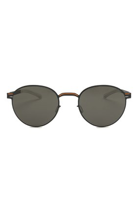 Женские солнцезащитные очки MYKITA черного цвета, арт. CARL0/INDIG0/0RANGE   Фото 4