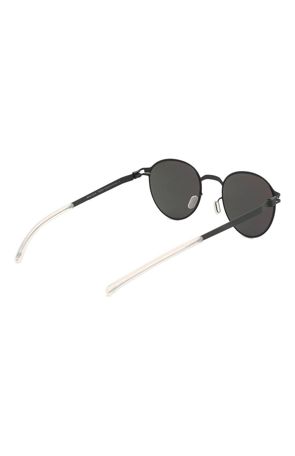 Женские солнцезащитные очки MYKITA черного цвета, арт. CARL0/INDIG0/0RANGE   Фото 5