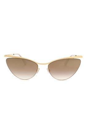 Женские солнцезащитные очки MYKITA золотого цвета, арт. MIZUH0/GL0SSYG0LD | Фото 3