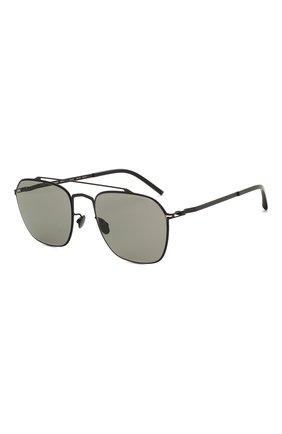 Мужские солнцезащитные очки MAISON MARGIELA черного цвета, арт. MMCRAFT 006/BLACK | Фото 1