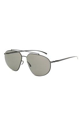Мужские солнцезащитные очки MAISON MARGIELA черного цвета, арт. MMESSE 022/E4-BLACK | Фото 1