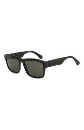 Мужские солнцезащитные очки MAISON MARGIELA черного цвета, арт. MMRAW 017/RAW BLACK   Фото 1