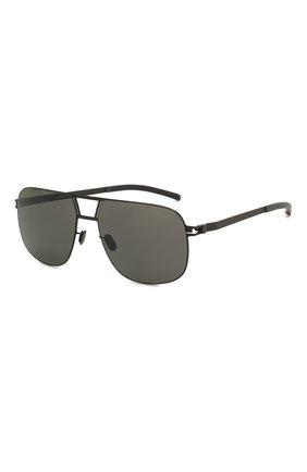 Мужские солнцезащитные очки MYKITA черного цвета, арт. AL/BLACK | Фото 1 (Тип очков: С/з; Очки форма: Прямоугольные; Оптика Гендер: оптика-мужское)