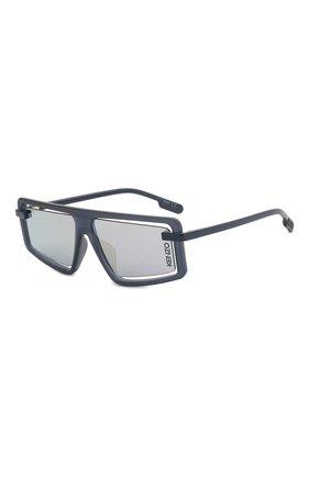 Мужские солнцезащитные очки KENZO синего цвета, арт. KZ40043U 91X | Фото 1