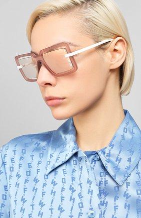 Мужские солнцезащитные очки KENZO светло-коричневого цвета, арт. KZ40049U 73C | Фото 2