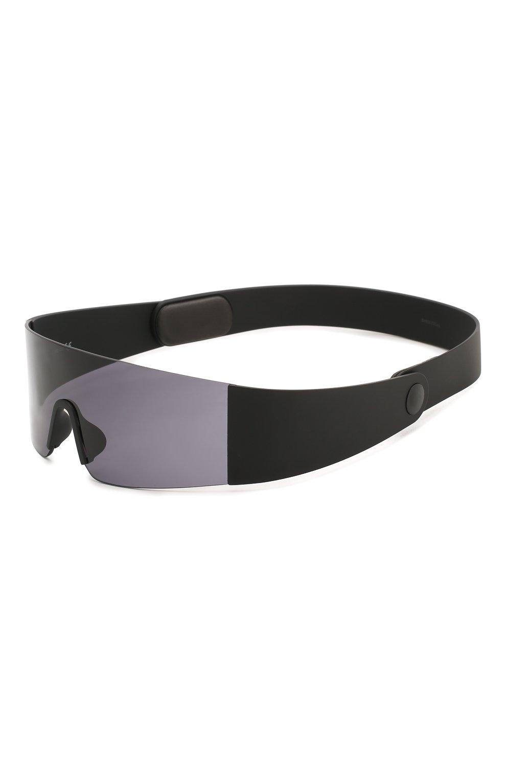 Женские солнцезащитные очки KENZO черного цвета, арт. KZ40064I 01A | Фото 1