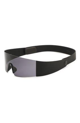 Мужские солнцезащитные очки KENZO черного цвета, арт. KZ40064I 01A | Фото 1