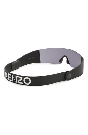 Женские солнцезащитные очки KENZO черного цвета, арт. KZ40064I 01A | Фото 5