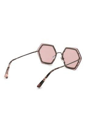 Женские солнцезащитные очки VALENTINO розового цвета, арт. 2035-303984 | Фото 4