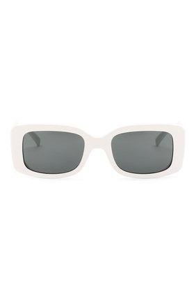 Женские солнцезащитные очки VERSACE белого цвета, арт. 4377-401/87 | Фото 3