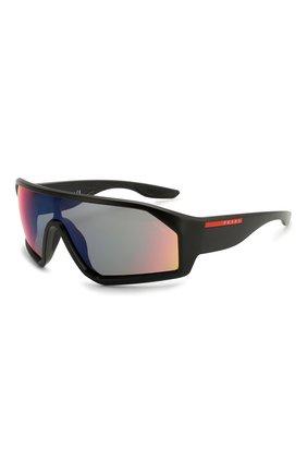Женские солнцезащитные очки PRADA LINEA ROSSA черного цвета, арт. 03VS-1B09Q1   Фото 1