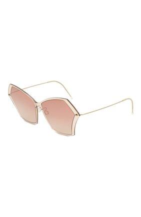 Мужские солнцезащитные очки LINDBERG светло-коричневого цвета, арт. 8328/C21 | Фото 1