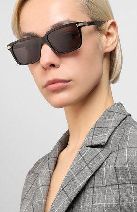Мужские солнцезащитные очки CARTIER черного цвета, арт. CT0220S 001 | Фото 2