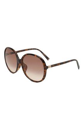 Женские солнцезащитные очки GIVENCHY коричневого цвета, арт. 7172/F 086 | Фото 1