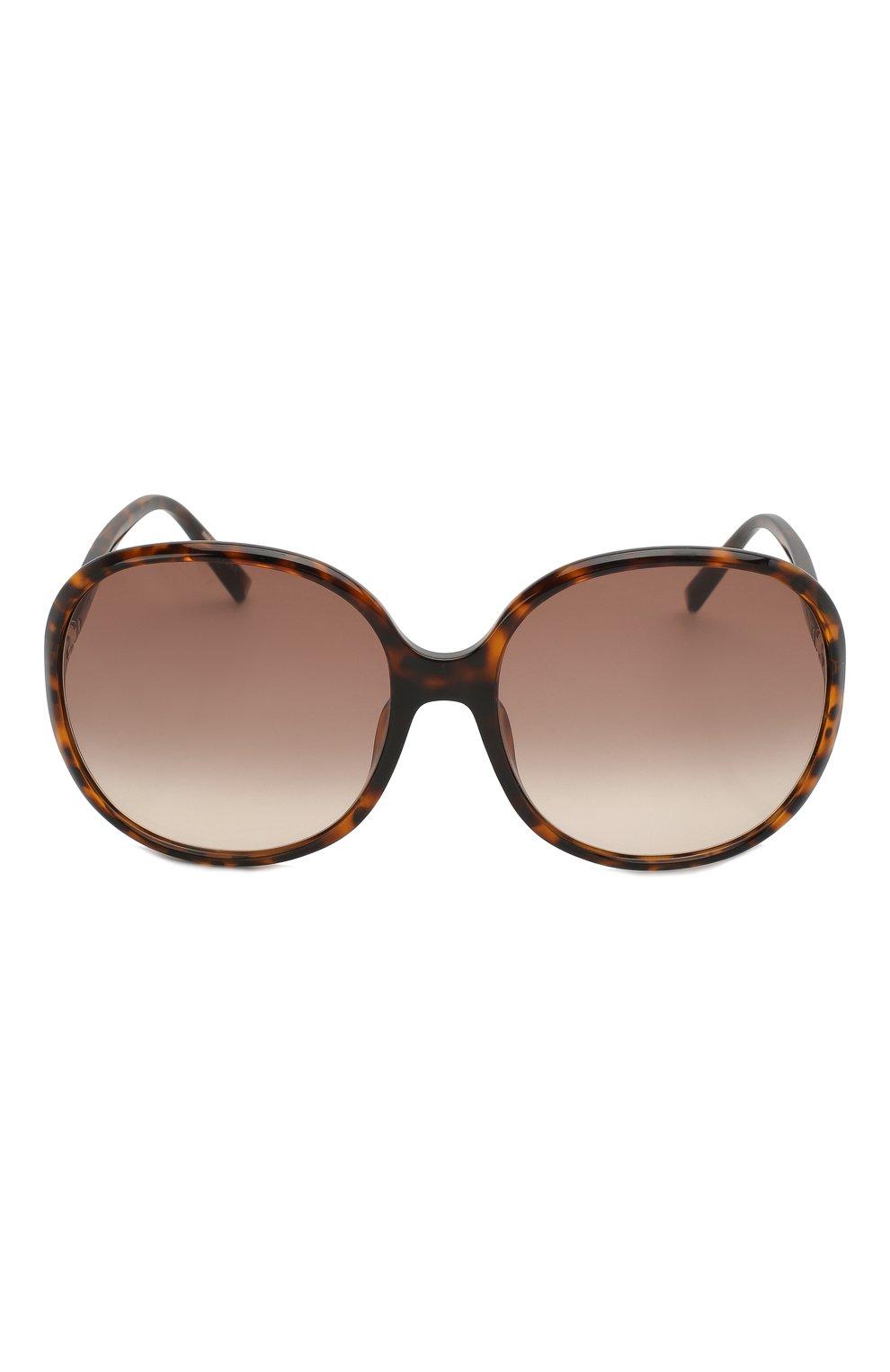 Женские солнцезащитные очки GIVENCHY коричневого цвета, арт. 7172/F 086 | Фото 3