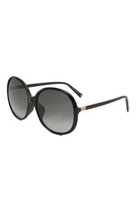 Женские солнцезащитные очки GIVENCHY черного цвета, арт. 7172/F 807 | Фото 1