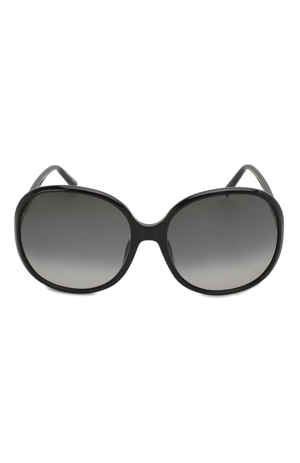 Женские солнцезащитные очки GIVENCHY черного цвета, арт. 7172/F 807 | Фото 3
