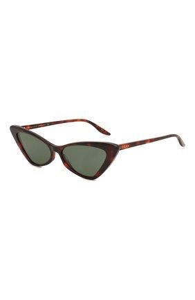 Мужские солнцезащитные очки GUCCI коричневого цвета, арт. GG0708S 003   Фото 1