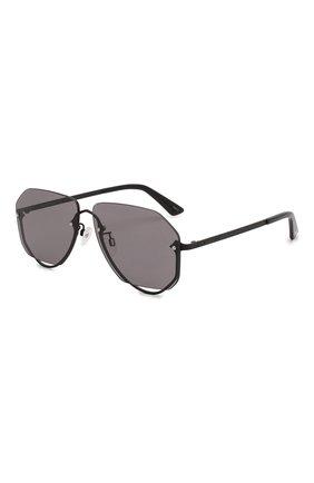 Женские солнцезащитные очки MCQ SWALLOW черного цвета, арт. MQ0257S 001 | Фото 1