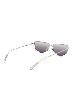 Женские солнцезащитные очки MCQ SWALLOW серого цвета, арт. MQ0271SA 001   Фото 5 (Тип очков: С/з; Оптика Гендер: оптика-женское; Очки форма: Прямоугольные)