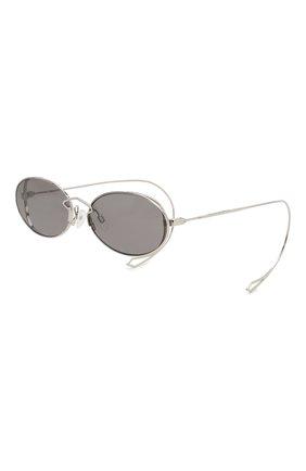 Женские солнцезащитные очки MCQ SWALLOW серого цвета, арт. MQ0272SA 001 | Фото 3